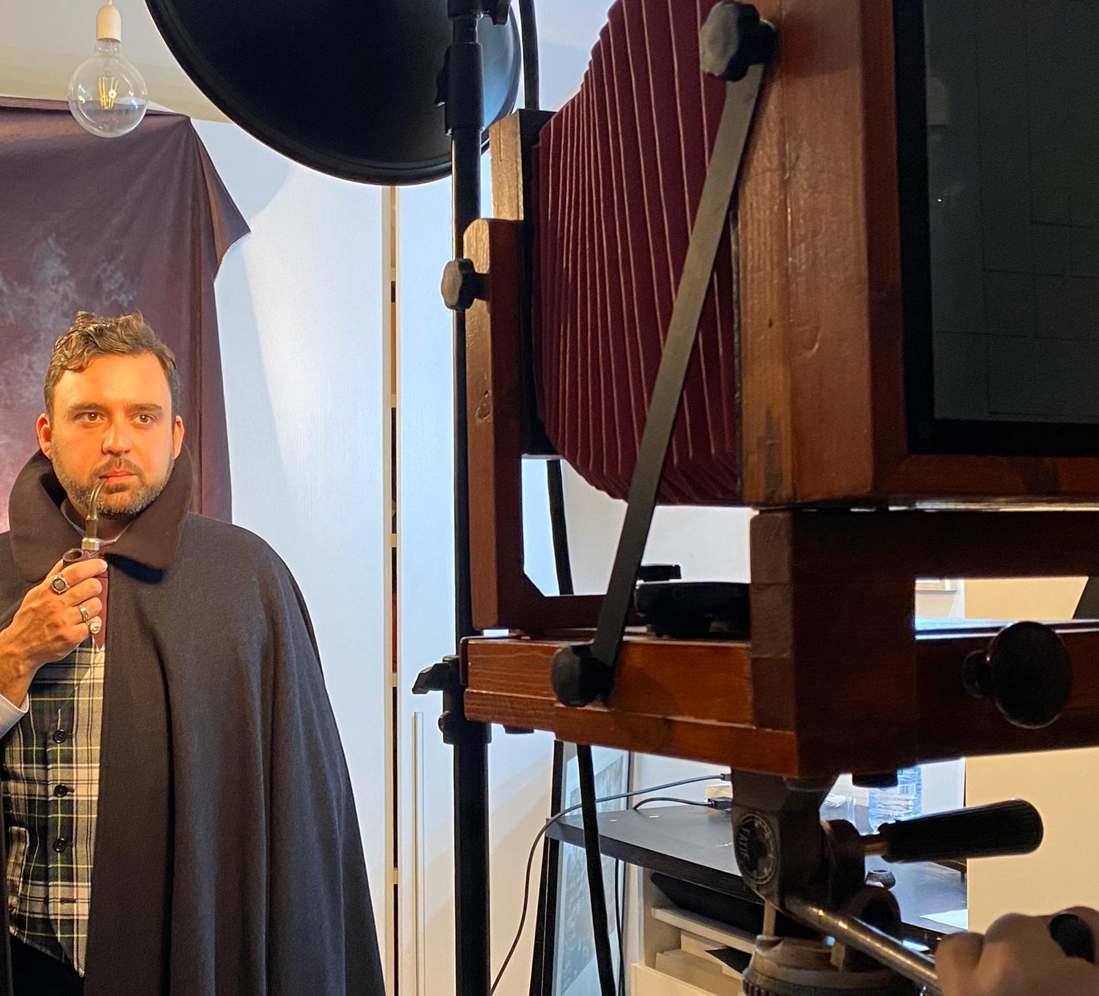 Backstage Ritratti al Collodio Umido