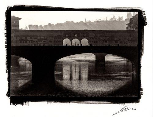 Ponte Vecchio – Platinum Palladium print